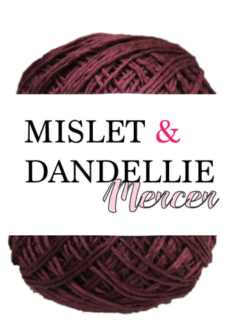 Merceri 100 gr 4ply in Garnet