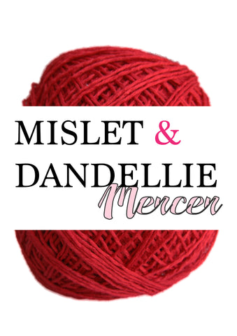 Merceri 100 gr 4ply in Dark Red