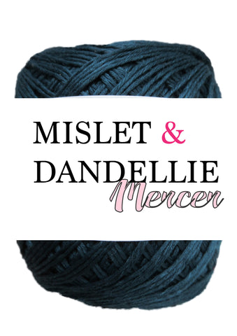 Merceri 100 gr 4ply in Navy
