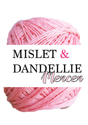 Merceri 100 gr 4ply in Pink