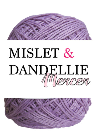 Merceri 100 gr 4ply in Purple
