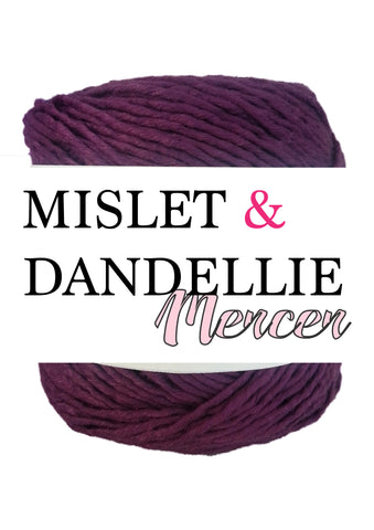 Merceri 100 gr 8 ply in Grape