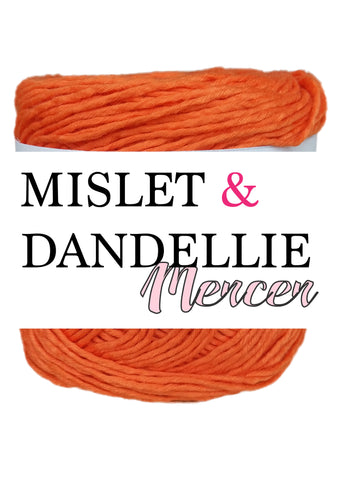 Merceri 100 gr 8 ply in Orange