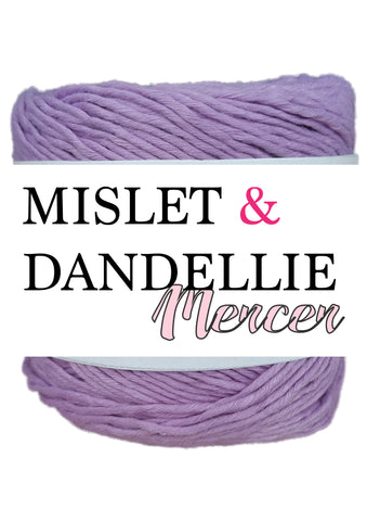 Merceri 100 gr 8 ply in Purple