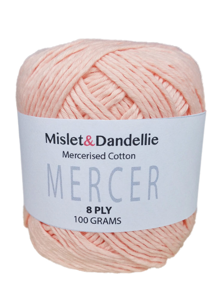 Merceri 100 gr 8ply in Peach
