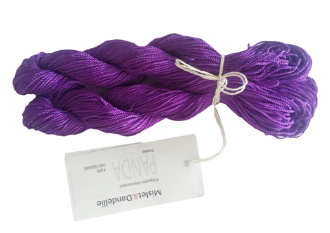 Panda 4 ply in Purple