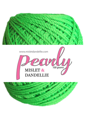 Pearly in Neon Green