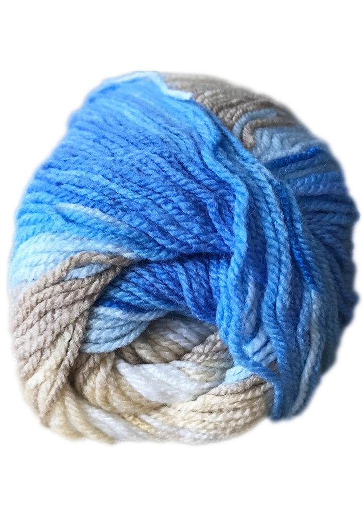 Somerset 8ply in Bluetopia