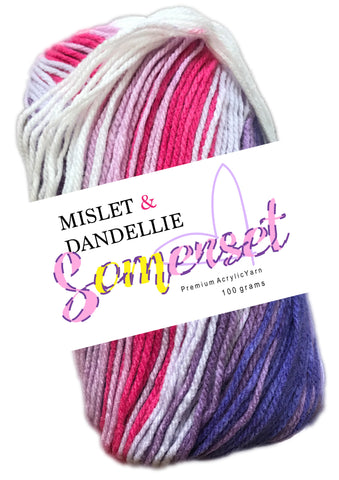 Somerset 8ply in Freesia