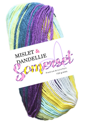 Somerset 8ply in Periwinkle