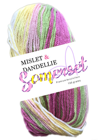 Somerset 8ply in Pinklime