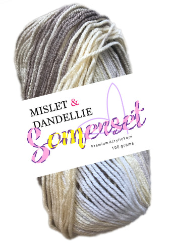 Somerset 8ply in Taupez