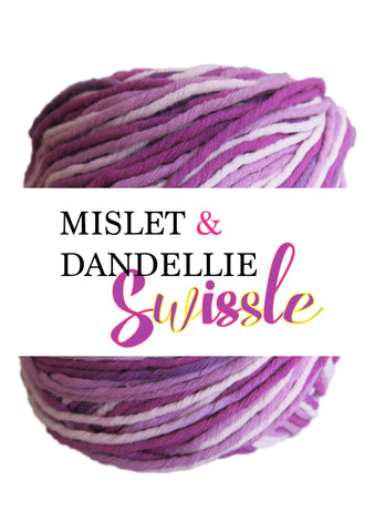 Swissle 8ply in Purplish