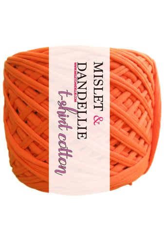 T-shirt Yarn in Orange