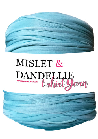 T-shirt yarn in Aqua