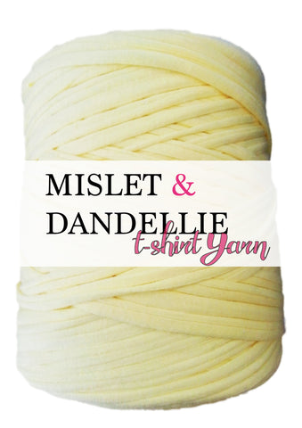T-shirt Yarn in Baby Yellow
