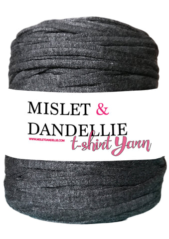 T-shirt Yarn in Charcoal