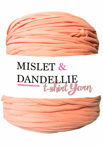 T-shirt Yarn in Coral
