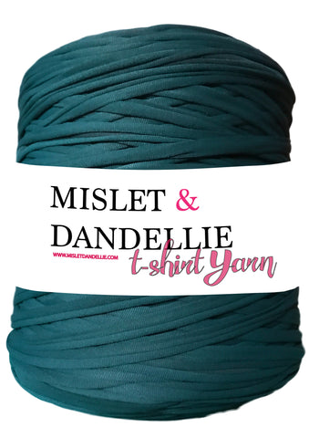 T-shirt Yarn in Dark Teal