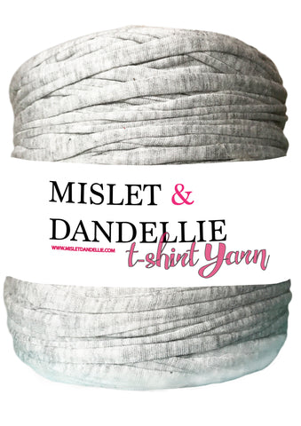 T-shirt Yarn in Misty Grey