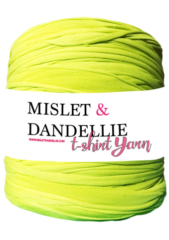 T-shirt Yarn in Lime