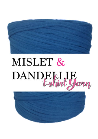 T-shirt yarn in Navy Blue
