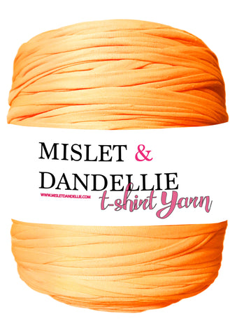 T-shirt Yarn in Neon Orange