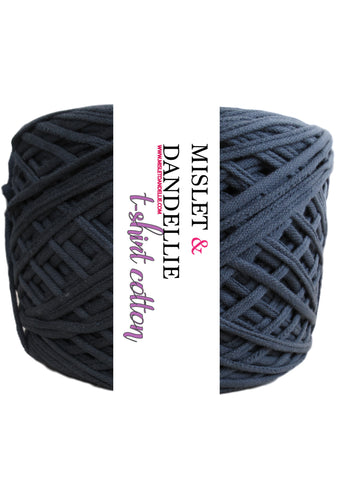 T-Shirt Yarn in PoloBlack