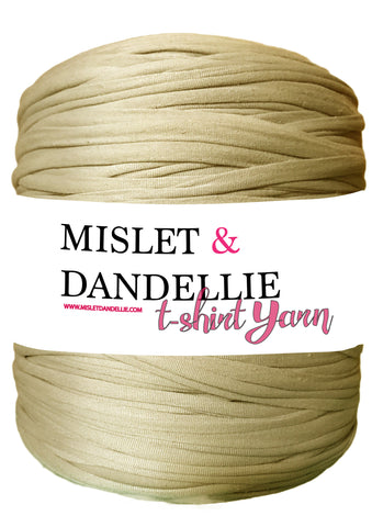 T-shirt Yarn in Taupe