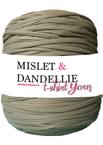 T-shirt Yarn in Umber