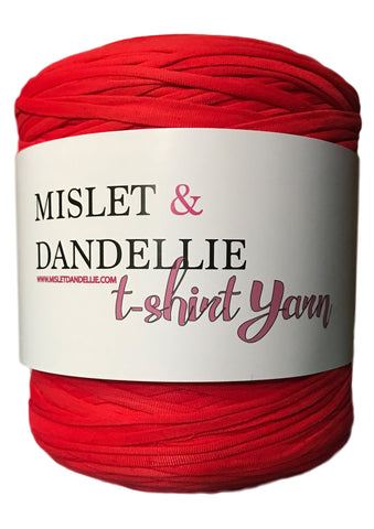 T-shirt Yarn in Red