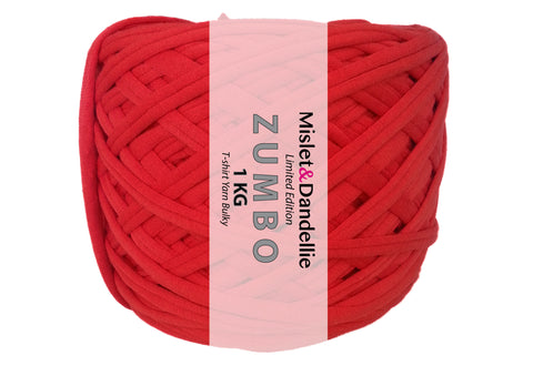 Zumbo 1 KG in Bright Red