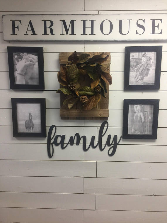 DIY Farmhouse Gallery Wall Decor