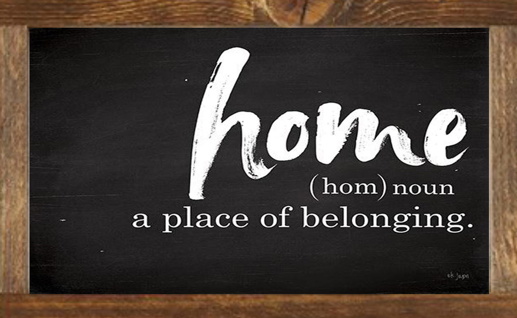 HOME - A PLACE OF BELONGING