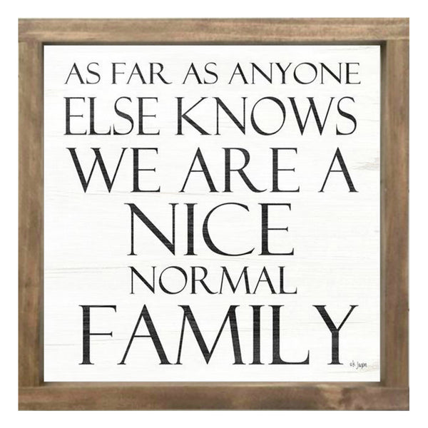 NICE NORMAL FAMILY