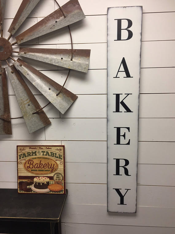 Bakery Sign-Kitchen Decor-Kitchen Sign-Bakery