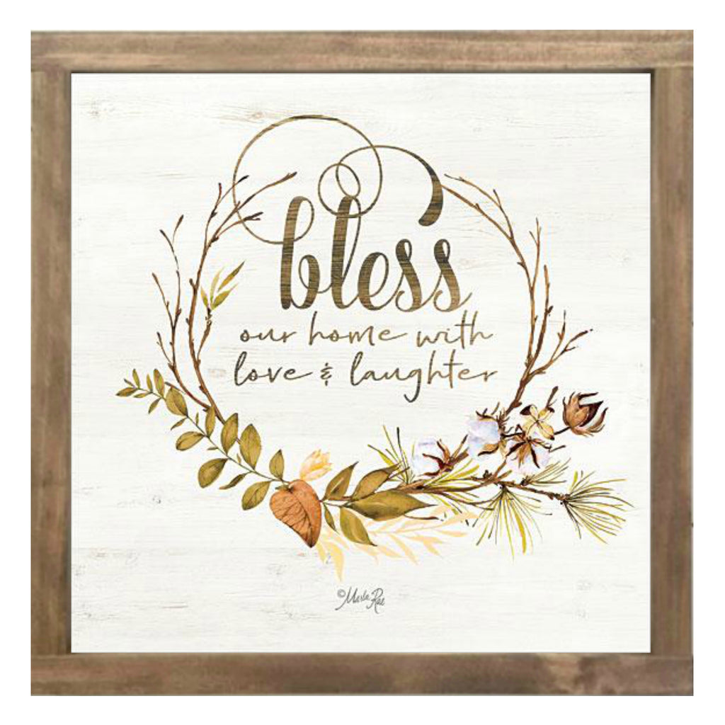BLESS OUR HOME FALL FOLIAGE