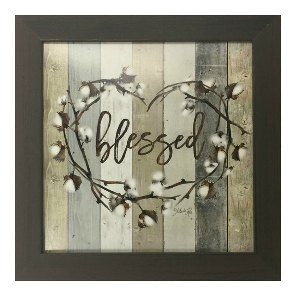 Blessed Framed Art