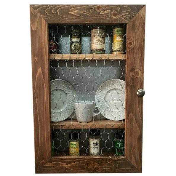 Rustic Kitchen Cabinet-Kitchen Storage