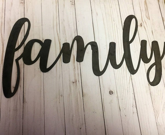 Family Sign-Wood Family Sign-Wood Sign-Family Wood Sign