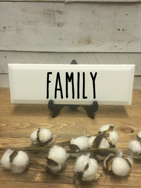 Family Sign-Gather-fixer upper-gift for her-mother's day-farmhouse sign