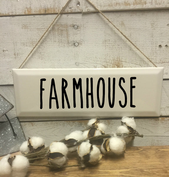 Farmhouse Sign-Home and Living-Home Decor-Wall Decor-Vintage Sign