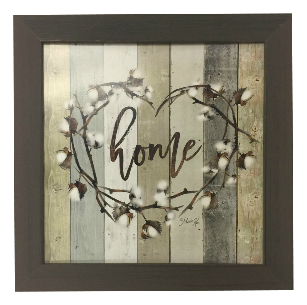 Farmhouse Home Framed Art