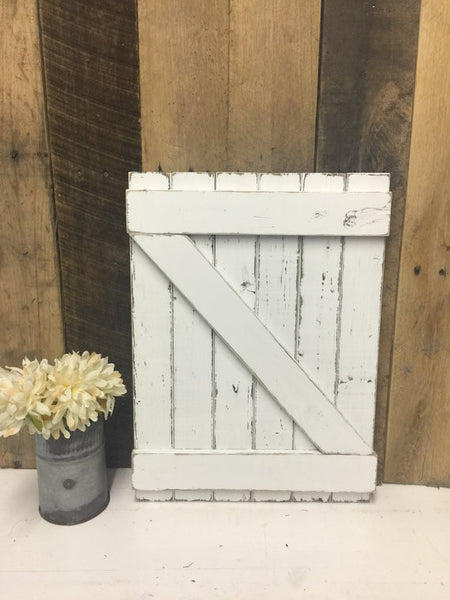 Wall Decor Barn Door - Hanging Barn Door