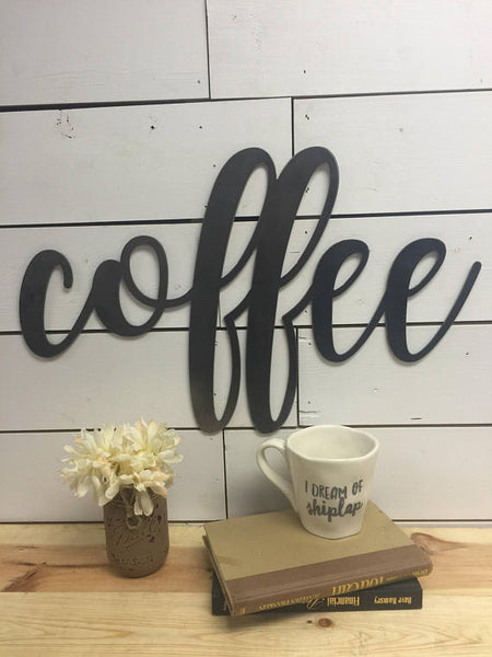 Coffee Sign-Wood Coffee Sign-Coffee Bar Sign-Coffee Bar-Coffee-Coffee Bar Decor