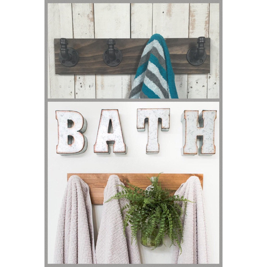 bathroom rubbed large decorative accessories holder sea robe for towel dual kitch bathrooms coat style racks oil glass hooks