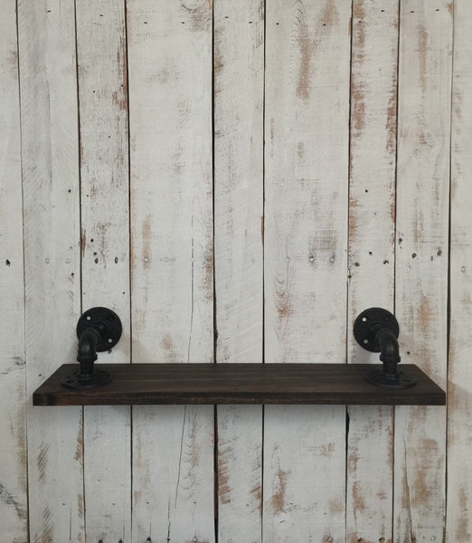 Industrial kitchen shelf - rustic shelf - spice rack