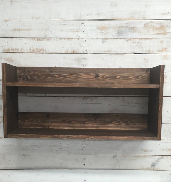 Rustic Wooden Shelves- Rustic Wooden Shelf