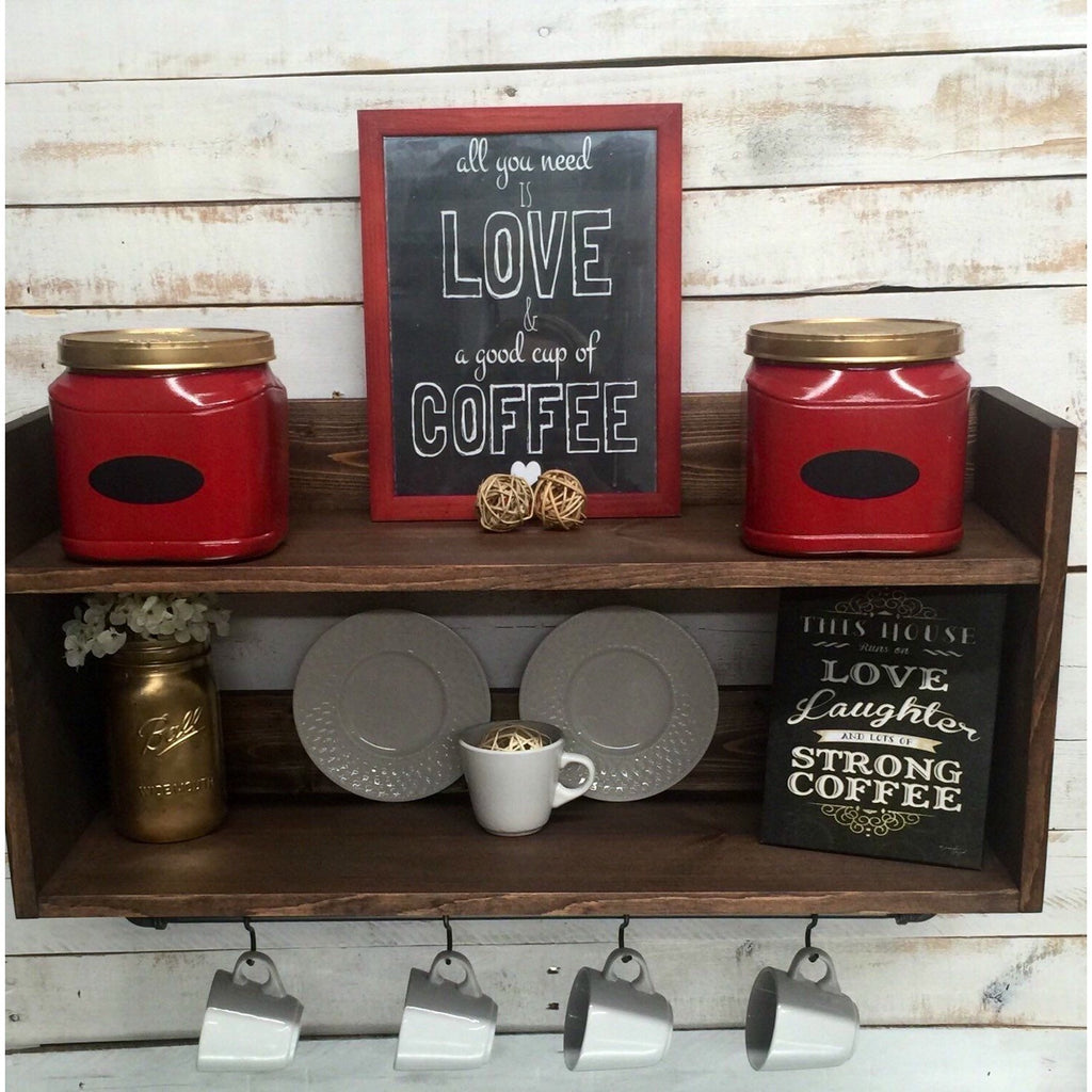 Kitchen Shelf Coffee Bar Shelf