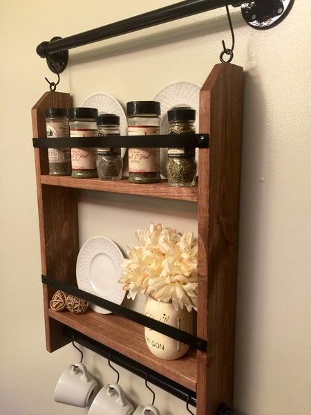 Kitchen Spice Rack - Spice Rack Shelf